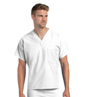 Landau Unisex V  Neck Top (Regular Length)