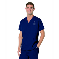 Mens Nursing Emblematic Scrub Top