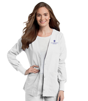 Landau Womens Cardigan Warmup Jacket