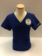 Womens Medical Assisting Top with Logo