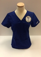 Womens Phlebotomy Top with Logo