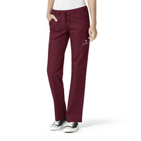 WonderWink TAMUCON Womens Straight Leg Cargo Scrub Pant, 504TAM3 TALL
