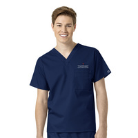 WonderWink Health Science WWK Unisex VNeck Scrub Top, 100IND7