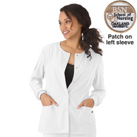 Ladies WarmUp Jacket with BSN Patch