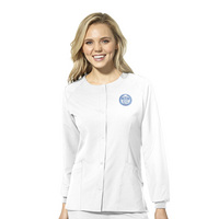 Womens Crew Neck Warm Up Jacket