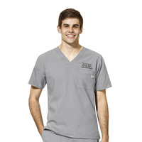 WonderWink Physician Assistant Staff Personalized W23 Mens VNeck Scrub Top, 6355TUT2