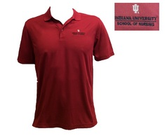 Unisex IU School of nursing polo
