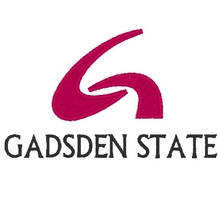 Gadsden State Logo  Embroidery