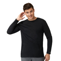 WonderWink KNT Mens long sleeve Tee 2909
