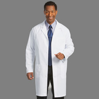 Fashion Seal Healthcare Mens 6535 Fine Line Twill 39 Lab Coat