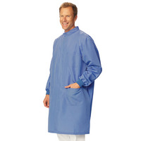 Fashion Seal Healthcare Unisex DStat Snap Front Lab Coat