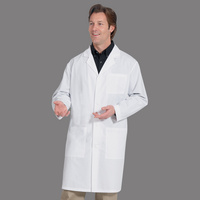 Fashion Seal Healthcare Unisex 8020 Poplin 41 Lab Coat