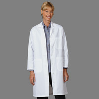 Fashion Seal Healthcare Womens 6535 Poplin 39 Lab Coat