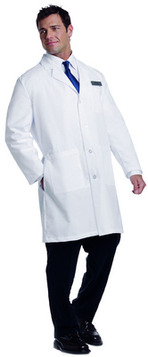 Landau Unisex Long Lab Coat