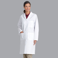 Ladies Wht 6535 Lab Coat