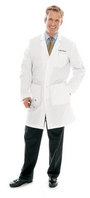 Landau Mens Lab Coat (Regular Length)