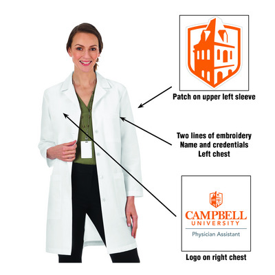 Faculty PA Med Faculty Lab Coat