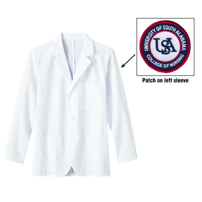 Mens Consult Coat with Nursing Patch