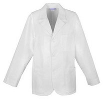 31 Inch Mens Lab Coat with Embroidered Logo