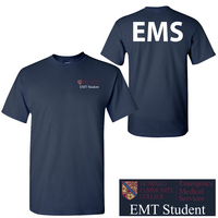 EMT SS Tshirt ScPt8178Navy