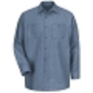 Robotics Postman Blue Tall Long Sleeve Shop Shirt
