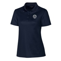 Spin Lady Pique PoloEMB8105Dark Navy