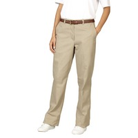 Fashion Seal Healthcare Womens Twill Flat Front Pants