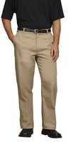 Fashion Seal Healthcare Mens Twill Flat Front Pants