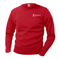 Unisex Youth Camp Red Performance Sweater