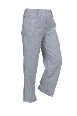 Unisex Hounds Tooth Pants, White