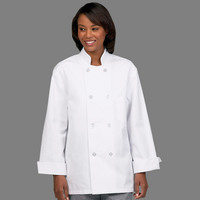 Fashion Seal Healthcare Unisex 6535 Twill 8 Button Chef Coat