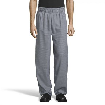 Unisex Houndstooth Baggy Pant