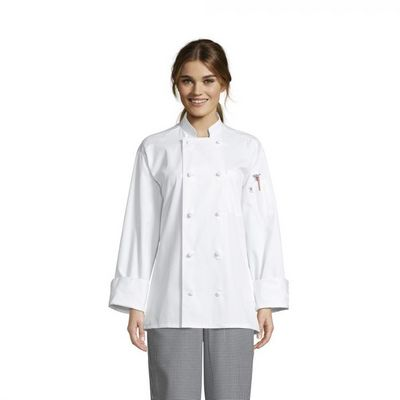 EmB Female Knotted Chef Coat