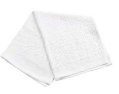 Economy Side Towel 16X19 White