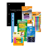 School Supplies Student Essentials Value Bundle 7pc