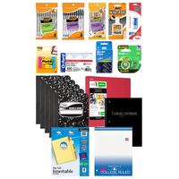 School Supplies Student Essentials Value Bundle 19pc