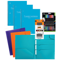 School Supplies Fashion Essentials Value Bundle 8pc