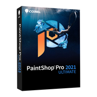 Corel PaintShop Pro 2021 Ultimate Commercial  2021 WIN DVD EngFrch