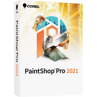Corel PaintShop Pro 2021 Commercial 2021 WIN DVD EngFrch
