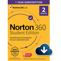 Norton 360 Education Version 2 Device 1 Year Subscription