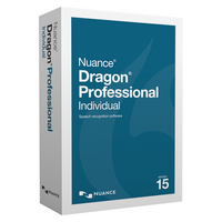 NUANCE Dragon Pro Indv 15 Commercial WIN ESD