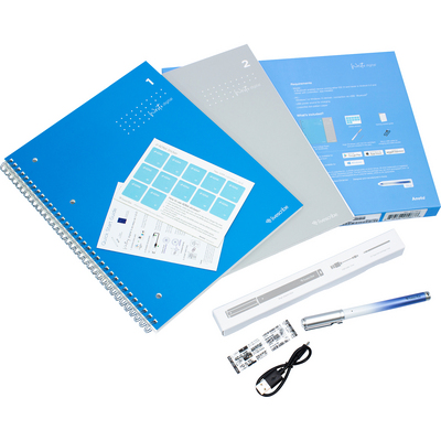 Livescribe Aegir Smartpen Bundle Commercial, Blue