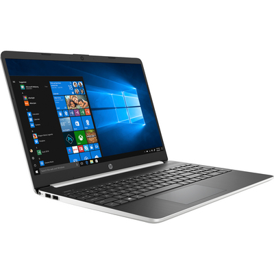 HP 15 dy1045nr 15 Laptop Computer 8GB RAM 256GB SSD in Natural and Ash Silver