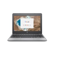 HP 11 V010NR 11.6 Chromebook Laptop Computer in Anodized Silver