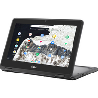 Dell Chromebook 11 3100 2in1 Computer Touch11.6in HD, Black