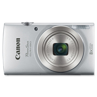 Canon PowerShot 180 20 Megapixel Compact Camera in Silver with Optical Image Stabilizer