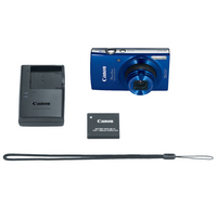Canon PowerShot 190 IS 20 Megapixel Compact Camera in Blue