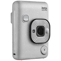 FujiFilm Instax Mini LiPlay Instant Digital Camera in Stone White