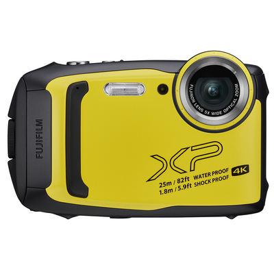 FujiFilm FinePix XP140 16.4 Megapixel Waterproof Compact Camera in Yellow