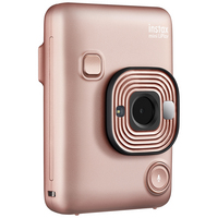 FujiFilm Instax Mini LiPlay Instant Digital Camera in Blush Gold